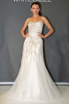 Kevan Hall White Label | Martha Stewart Weddings