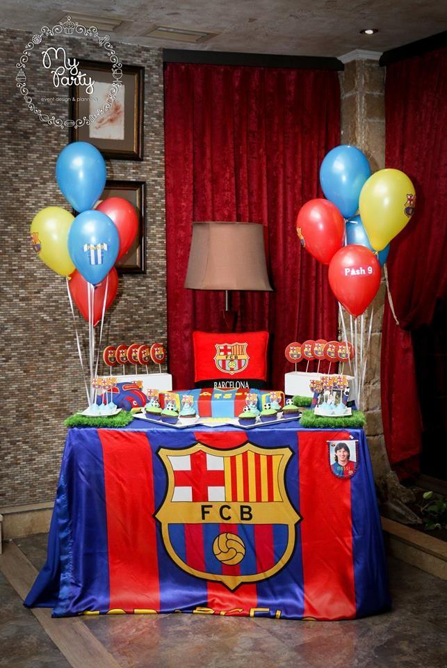 Best 25 barcelona soccer party ideas on pinterest - Decoracion infantil barcelona ...
