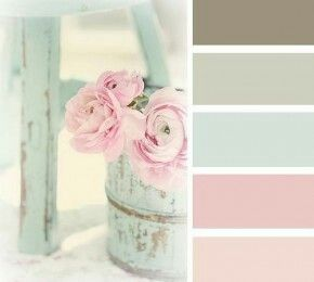 Kleurenpalet - ROMANTISCH