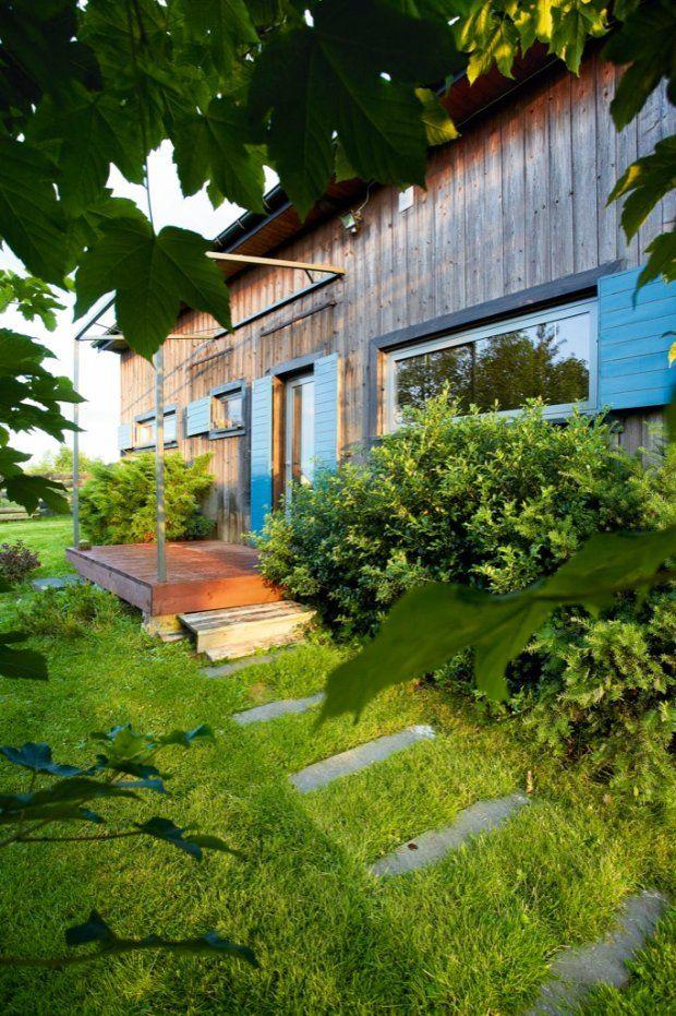 Stodoła przerobiona na dom - tu tworzy polska artystka