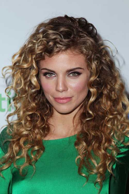 25+ Curly Hair Women - Long Hairstyles 2015