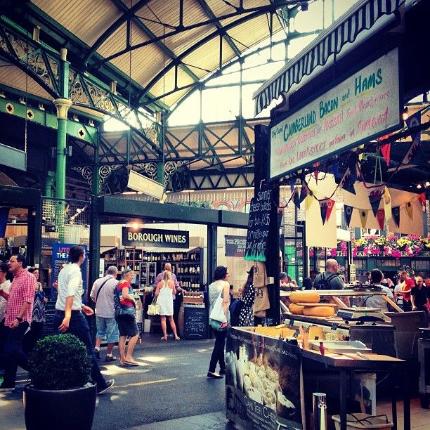 borough market bastille day