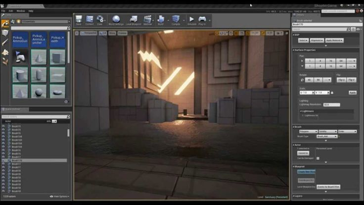 how to create a character in ue4