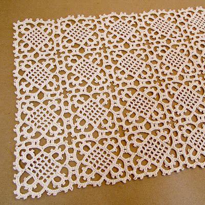 Crochet Table Runner - Free Pattern CROCHETED TABLE ...