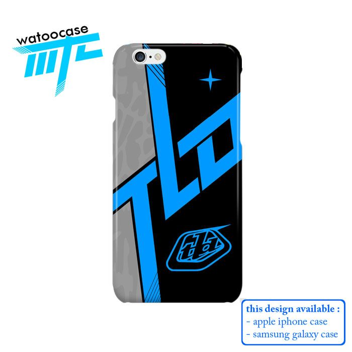 Troy Lee Design Skyline Blue Phone Case | Apple iPhone 4 4s 5 5s 5c 6 6s Plus Samsung Galaxy S3 S4 S5 S6 S7 EDGE Hard Case