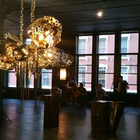 New Chandelier At Architectural Digest Showroom Opening   Hudson Furniture  In New York   Designed By