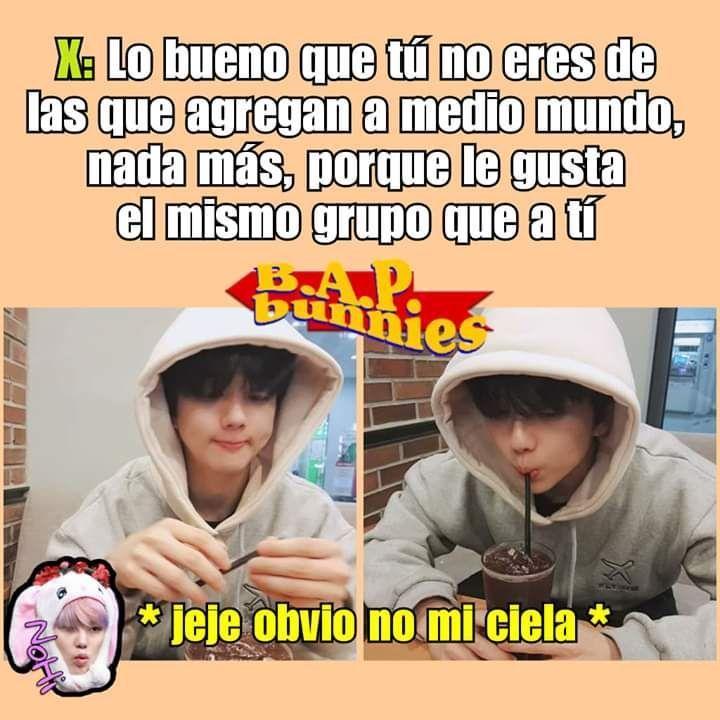 Memes De B A P 2 Obvio No Mi Ciela Memes Memes Coreanos Memes Kpop