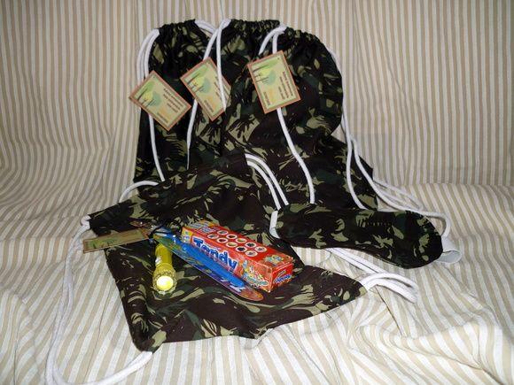 Kit festa do pijama completo