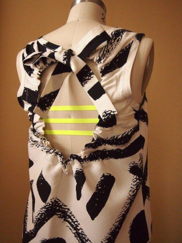 interesting. DIY 3 strap bra for backless summer dresses/shirts