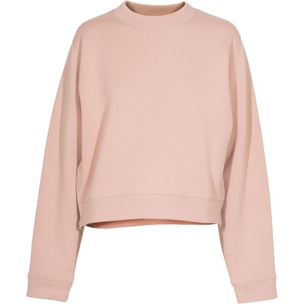 ACNE STUDIOS Bird Nude Cropped sweater found on Polyvore