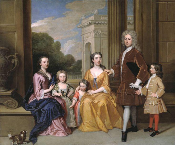 The Harvey Family by Godfrey Kneller, 1721