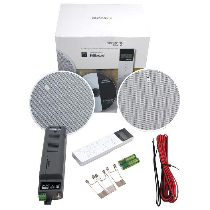 Встраиваемая акустика с пультом управления для влажных помещений