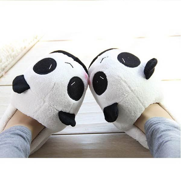 Women Men Lovers Cute Panda Home Slippers