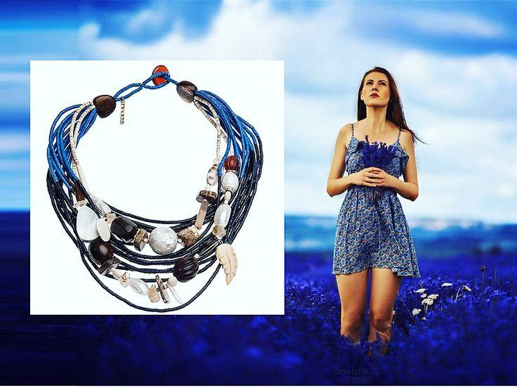 Колье из коллекции Enigma - ваш личный источник жизненных сил и вдохновения... Зарядитесь энергией природы!