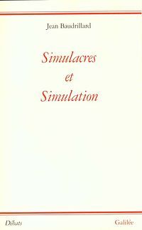 "Ok so this isn't a link to an article, but Baudrillard's ""The Precession of Simulacra"" is amazing, and you should read it if you can find it"