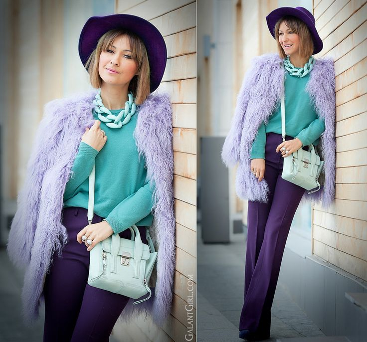 diana broussard nate mint necklace, 3.1 phillip lim mini pashli, galant girl, lamb fur coat, color mix,