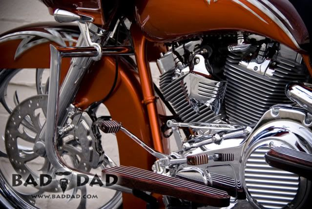 Baggers |  :: Dave's Road Glide | Bad Dad | Custom Bagger Parts for Your Bagger