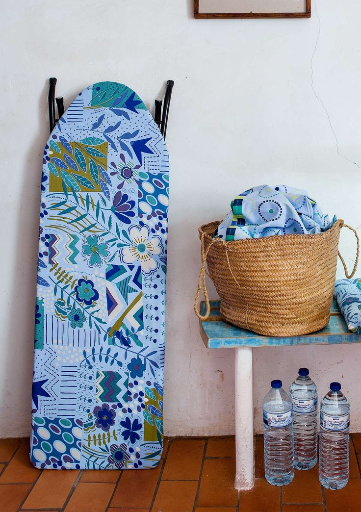 """Ironing is always more pleasant with lovely colors and patterns. Why not adorn your ironing board with our cover in the """"Juliana"""" pattern?"""