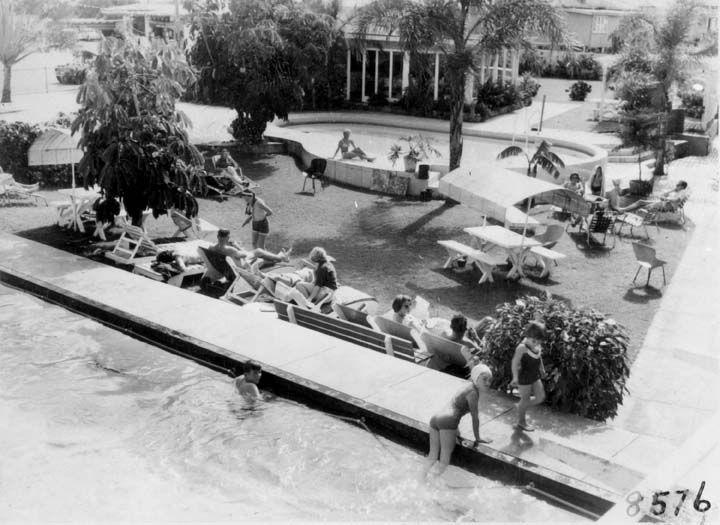 El Dorado Motel and Fiesta Motel, Gold Coast Highway, Surfers Paradise, June 1964