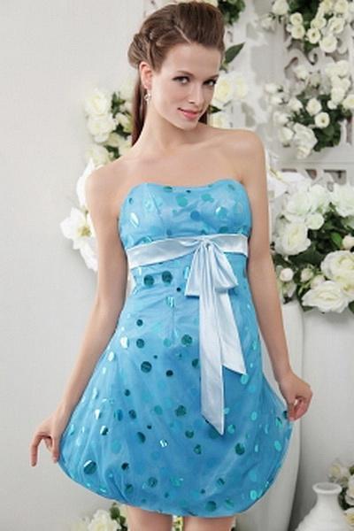 Princess Chiffon Classic Formal Dresses wr1247 - http://www.weddingrobe.co.uk/princess-chiffon-classic-formal-dresses-wr1247.html - NECKLINE: Strapless. FABRIC: Chiffon. SLEEVE: Sleeveless. COLOR: Blue. SILHOUETTE: Princess. - 146.59
