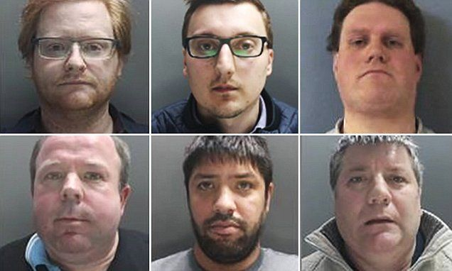 Head of paedophile ring handed nine life sentences #DailyMail