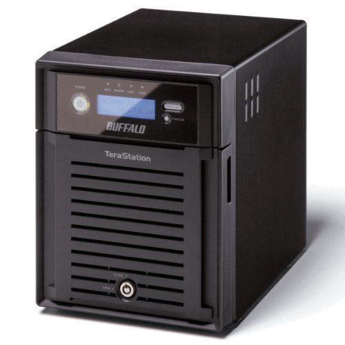 BUFFALO TeraStation Pro Quad 4-Bay 12 TB (4 x 3 TB) RAID Network Attached Storage (NAS) TS-QVH12TL/R6 by BUFFALO. Save 54 Off!. $1416.00. Buffalo's TeraStation Pro Quad is a high performance network storage solution ideal for businesses and demanding users looking to implement a RAID based network storage solution for larger networks and business critical applications. With a powerful Intel Atom Dual-Core Processor, TeraStation Pro Quad provides exceptional performance during file transf...