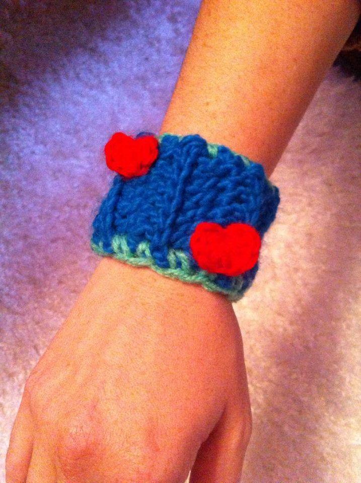 Crochet bracelet!