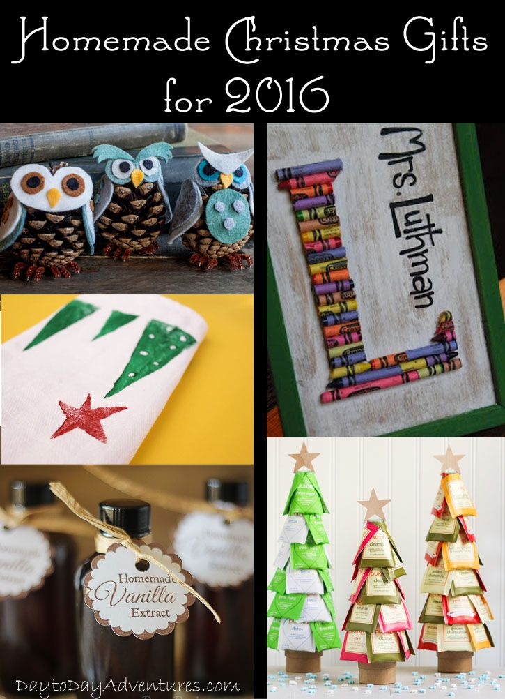 It's time to start working on the Christmas list. Handmade gifts are special to give but they take TIME! Check out these great ideas! - DaytoDayAdventures.com