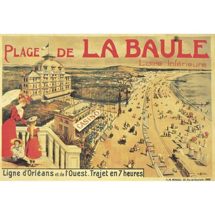 La Baule,Voile,Sail,vintage,beach,plage