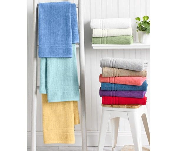 Lacoste Bath Towel Reviews: Martha Stewart Collection Quick Dry Bath Towel Collection