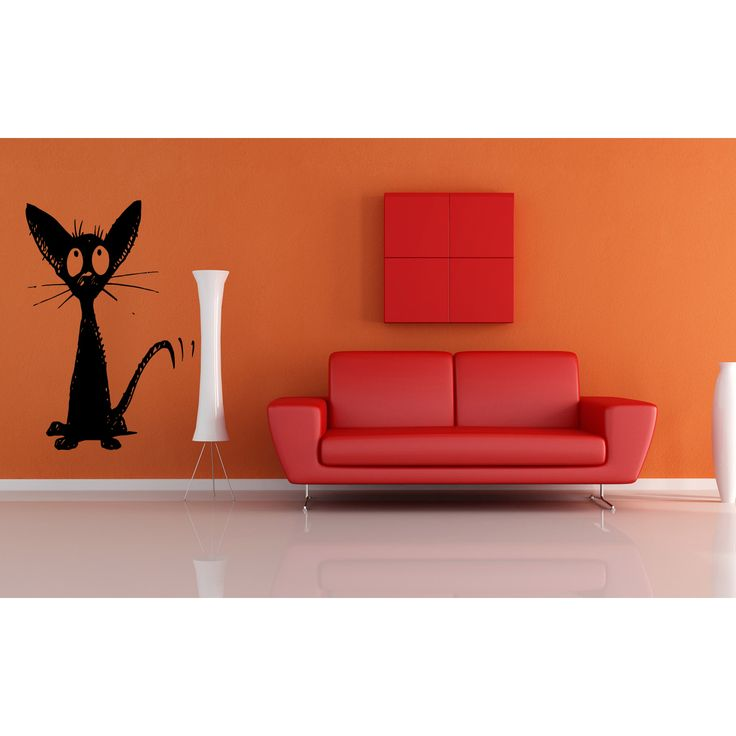 Oriental Cat Breed Cat Kitten Pet Wall Art Sticker Decal