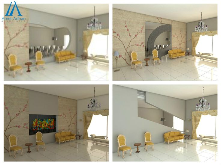 Eye Catching Drawing Room Interior 3D Design Options By Team AAA InteriorDesignerinPakistan