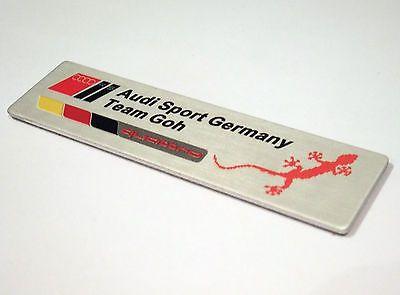 Audi sport germany #quattro team #badge #emblem metal boot a3 a4 a5 a6 a8 s3 s4 s,  View more on the LINK: http://www.zeppy.io/product/gb/2/281871426821/