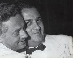 Dino Risi, Federico Fellini, Festival Internacional de Cine de San Sebastián, 1957