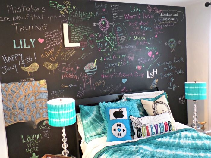 Have You Had The Opportunity To Use Chalkboard Paint In One Of Your Kids Rooms Yet