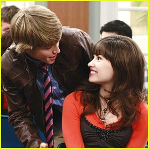 Sterling Knight tries to charm Demi Lovato in this new still from an upcoming episode of Sonny With A Chance. Description from demicentral.com. I searched for this on bing.com/images