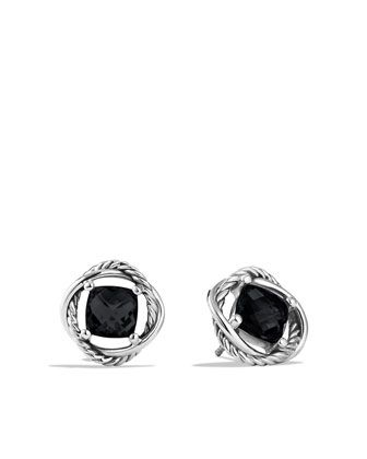 Think I need this ... Infinity Earrings with Black Onyx by David Yurman at Neiman Marcus.