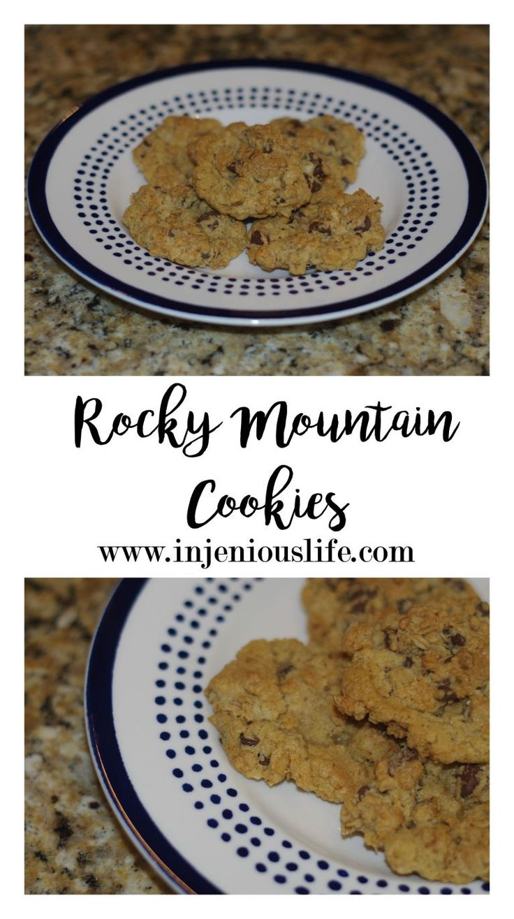 "I saw this article about the ""official"" state cookies a while back and decided to make Colorado's. Ours is the Rocky Mountain Cookie. It has oatmeal, chocolate chips, and puffed rice cereal. And they're super good. Want to feel like a Coloradian? Let's get to cooking!"
