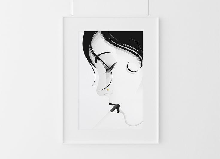 #Red #White #Poster #Print #Minimalism #Minimalist #Design #Graphic Design #Adrian #Iorga #Art #Wallart #Decoration #Fashion