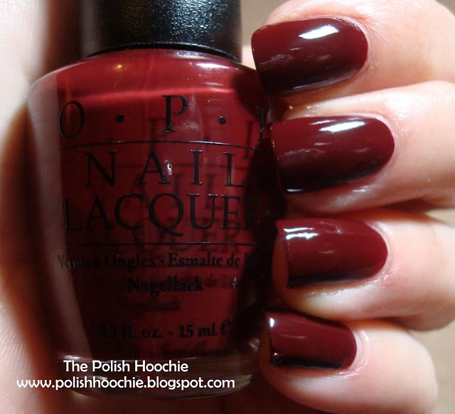OPI Vampire State Building | Oxblood Red♡ | Pinterest | OPI