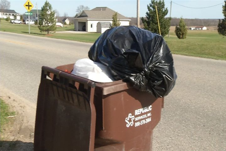 Garbage Piling Up as Frost Law Prevents Trash Hauling Co. From Pick Up