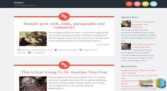 Sorbet Responsive Blogger Template blogger templates free blogger templates. Blogger free templates, 2014 blogger templates seo blogger themes free 2014