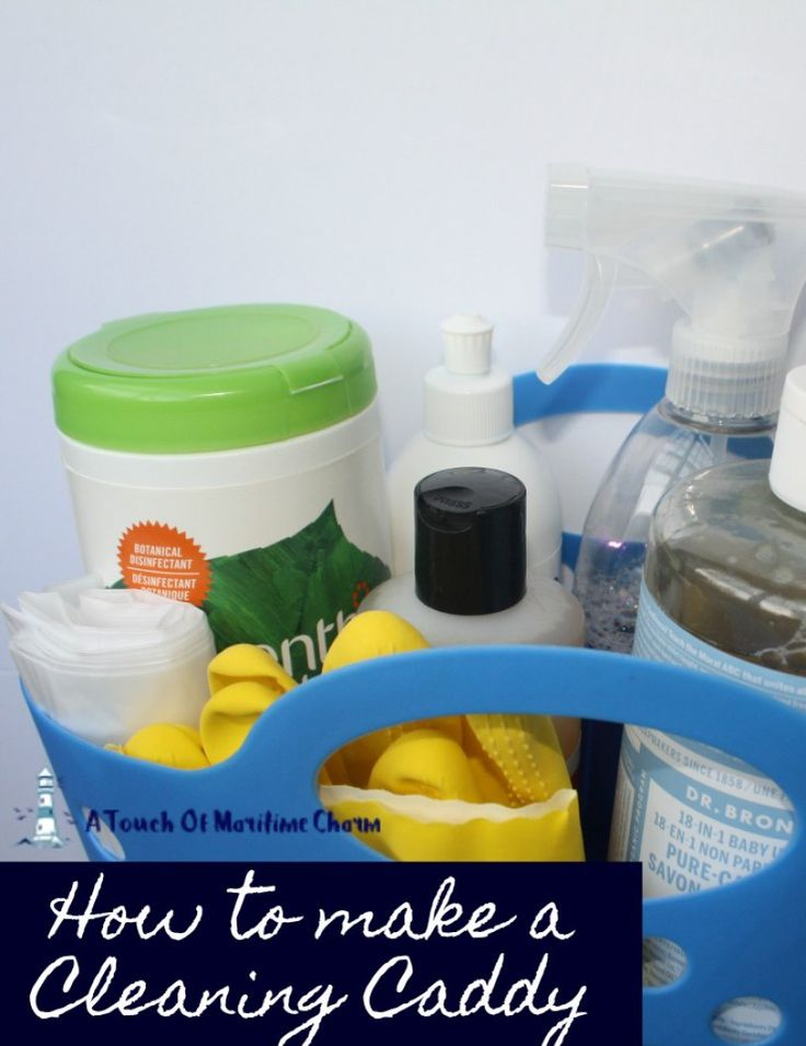 How to Create a Cleaning Caddy