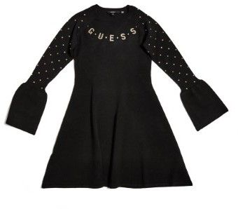 GUESS Girl's Studded Sweater Dress (7-16)