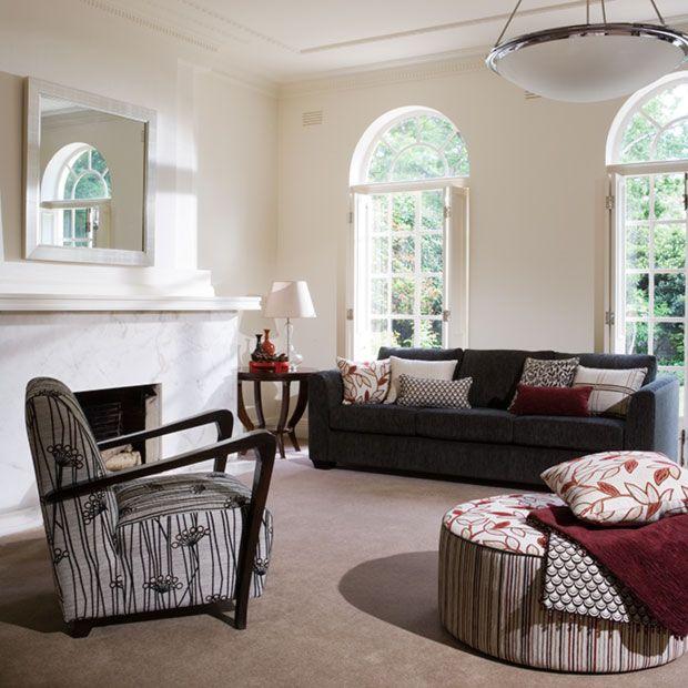 Lantana  & chair lakeflower| Warwick Fabrics Australia