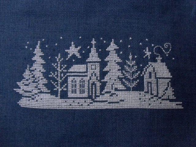 Willow Tree Stitcher winter silhouette