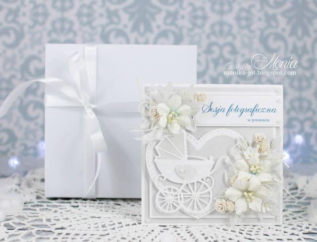 #polandhandmade #handmadeflowers #cardmaking #white #forbaby