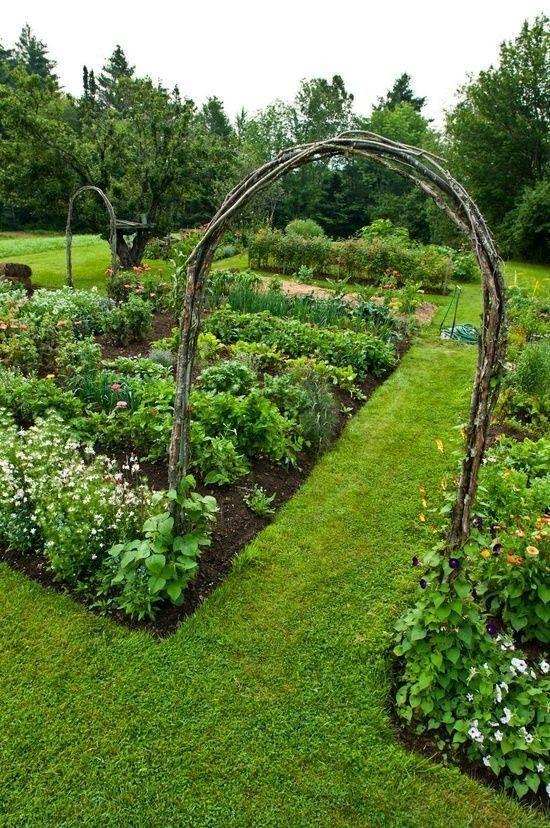 Backyards Click: Ornamental Kitchen Garden