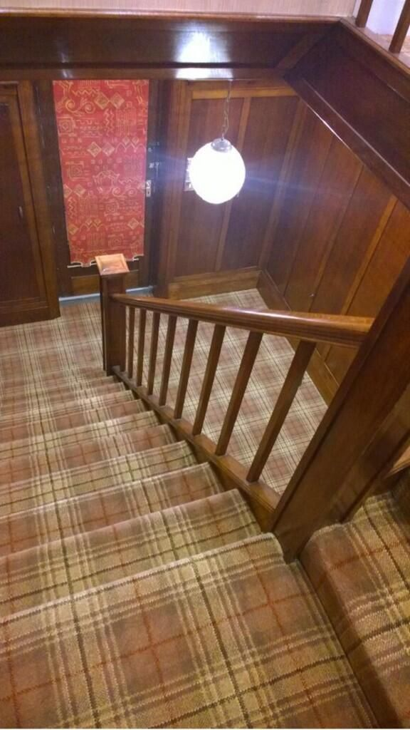 Philip Thursbys Installation Of Country House Collection On Stairs.  Http://ulstercarpets.