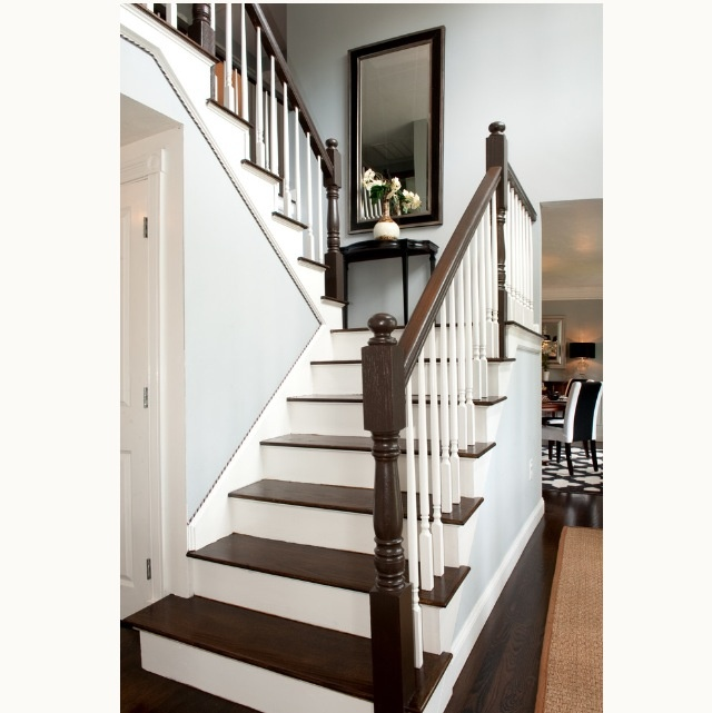 8 Best Two-tone Staircase Images On Pinterest
